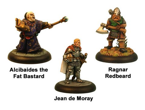 Crusader Games got inexpensive iconic fantasy miniatures: Ccf001