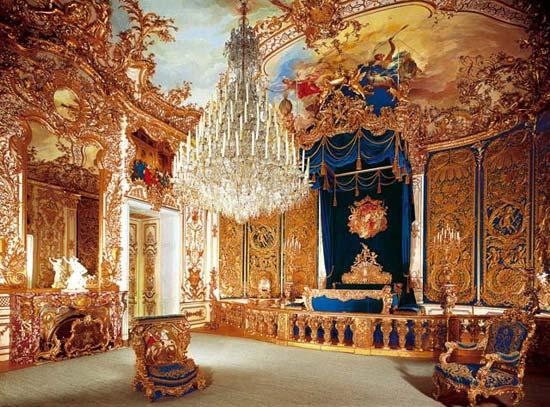 Il nostro mondo - Pagina 2 Castello-di-linderhof-camera-da-letto