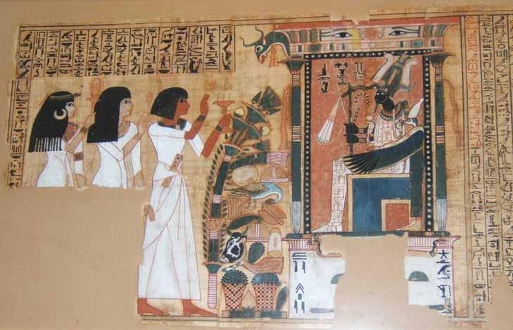 Papiros funerarios .IMAGENES Bookofdead2