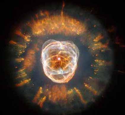 18e anniversaire du télescope spatial Hubble Eskimonebula