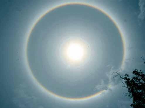 Double Solar 'Rainbow' Halos Light Up Brazilian Skies Solar.halo