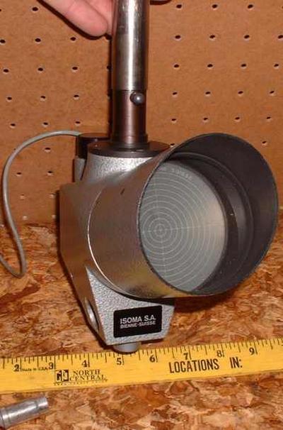 Restauration microscope gonio Isoma Isoma2