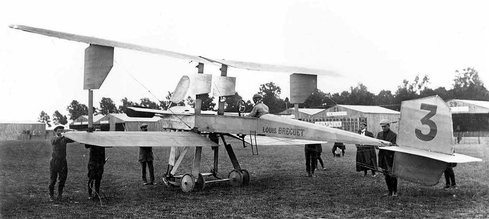 Prvi putnici u avijaciji Breguet_1910_mil_5_1000