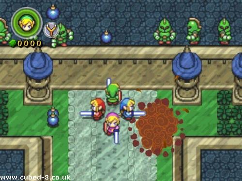 The Best Legend of Zelda Zelda4swords2a