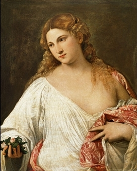 Mostre d'Arte - Pagina 2 Tiziano-Flora-Galleria-degli-Uffizi