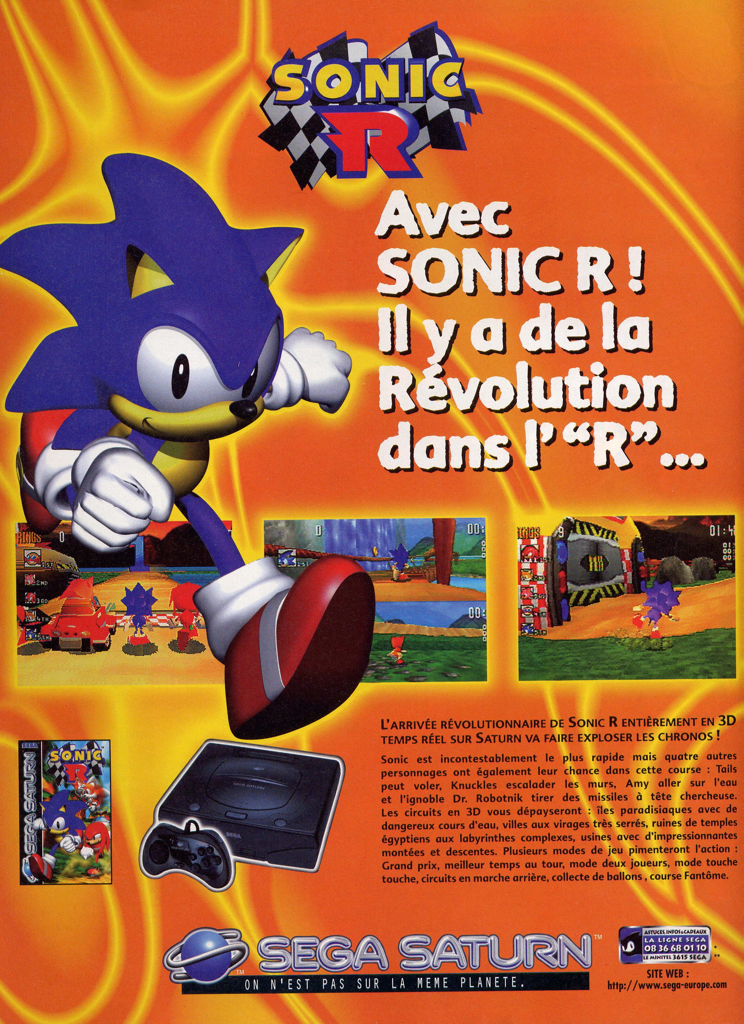 Sonic et la Pub  SonicR