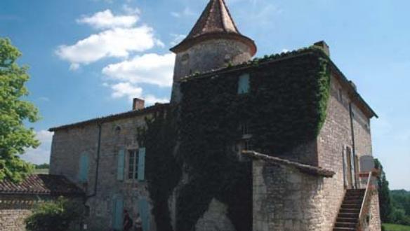 Eugénie de Guérin Chateau-du-Cayla-Maurice-de-Guerin