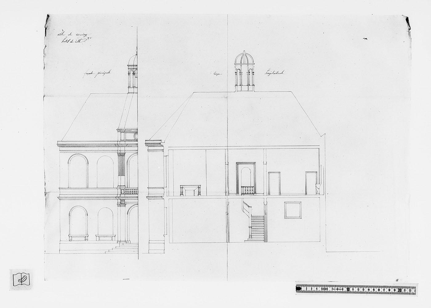 Plan de l'hotel de ville de Cormicy (1847) Dafanch07_f211890j1970v003-p