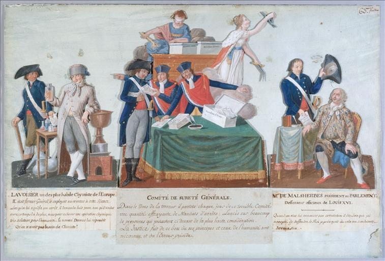 Antoine Lavoisier - chimiste - 1794 M110400_39124-3_p