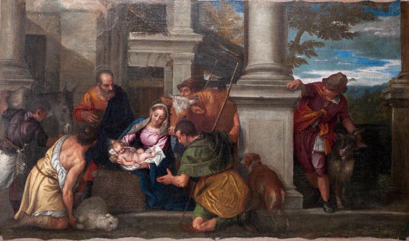 Recherches sur une adoration des bergers de Véronèse M077000_0002836_p