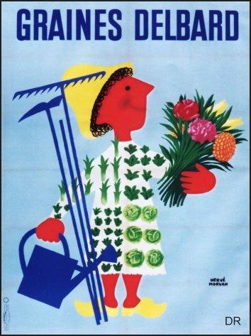 Les affiches du temps passé quand la pub s'appelait réclame .. - Page 6 Photo15-0539-graines-delbard-gm-350X469