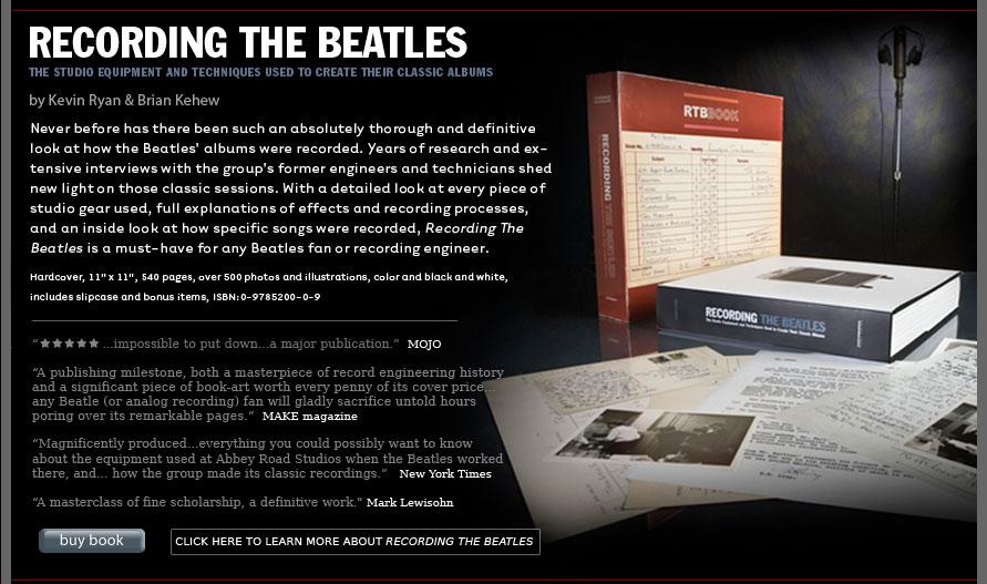 Beatles - Page 4 RecordingTheBeatles