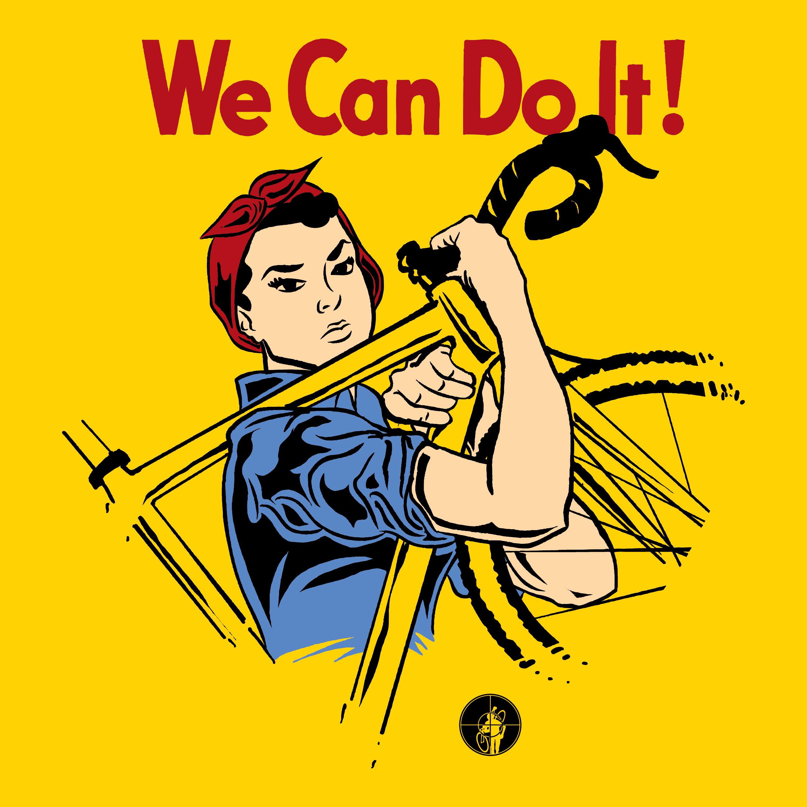 D'une affiche de propagande au féminisme, Rosie, We can do it Rosie_ArtWC_final