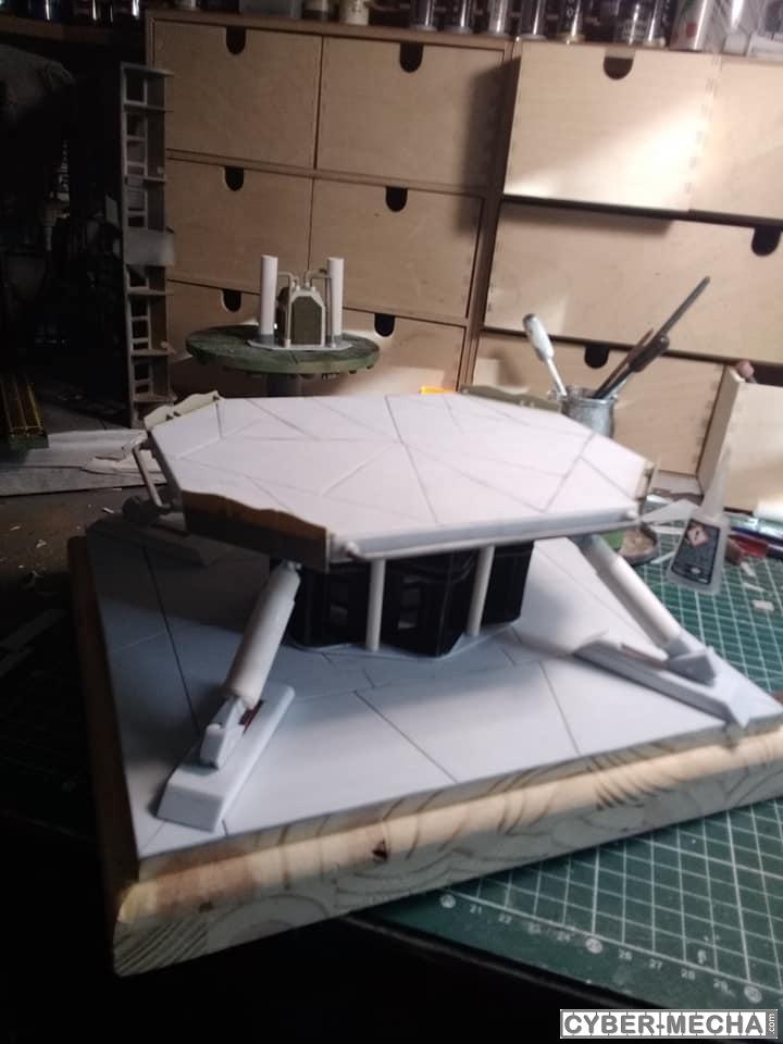 Plateforme d'élevation pour Gundam ......Quand on et chaud ; 1567964052