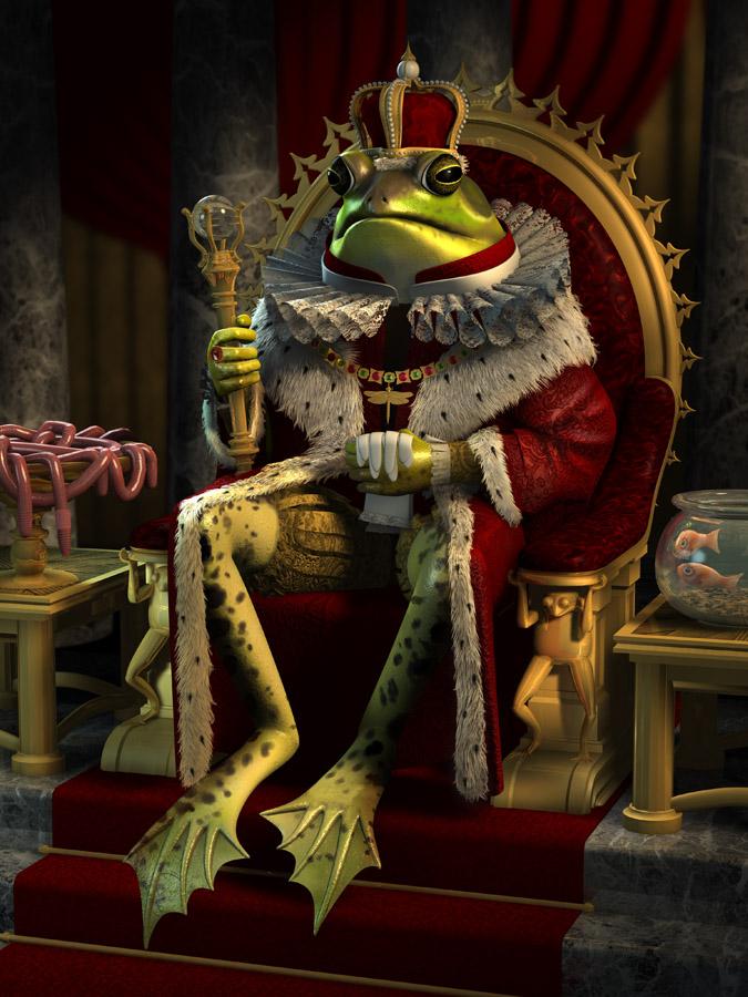 Bienvenidos al nuevo foro de apoyo a Noe #272 / 03.07.15 ~ 09.07.15 - Página 2 Frog_king