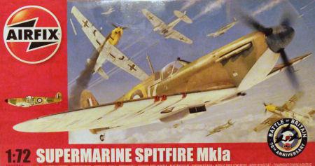 Spitfire MKIa - DWoK BoB - Airfix 1/72 Airfix_1071_title