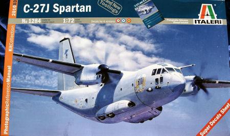 C-27  Spartan de la FAM ( Cromo de modelismo) It_1284_title