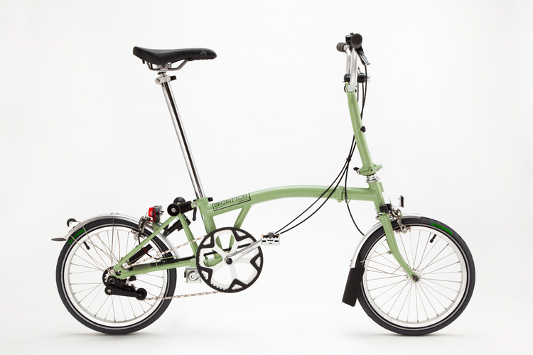 Mon joli petit vélo. Brompton_sage_green