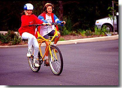 Bicyclettes farfelues... 26sidetandem