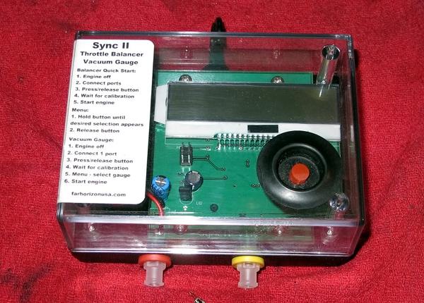R100S 1976: synchro avec Harmonizer Harmonizer