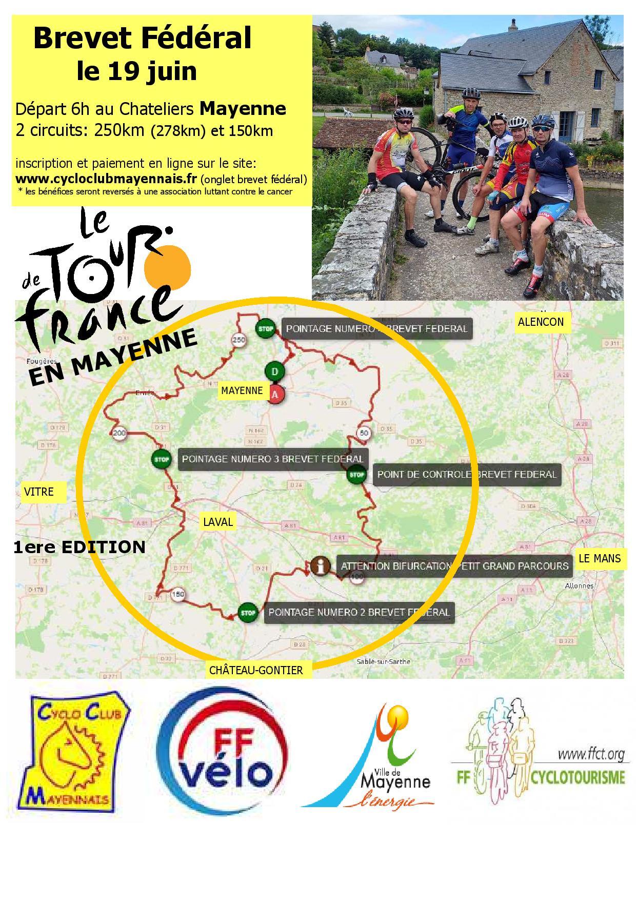 """Brevet fédéral """"UN TOUR DE FRANCE EN MAYENNE"""" Brevet-F%C3%A9d%C3%A9ral-19-juin-2021-page-001"""