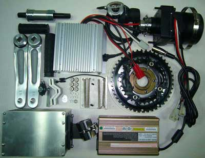 Kit motor central  pedalier más bici  650-3c-a-complete-s