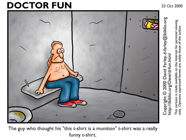 Fun corner Dr-fun-munition-t-shirt