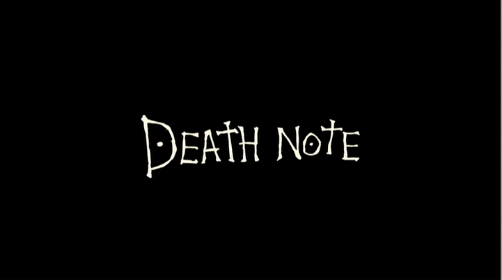 Death Note - [MANGA/ANIME] Death Note DEATH-NOTE