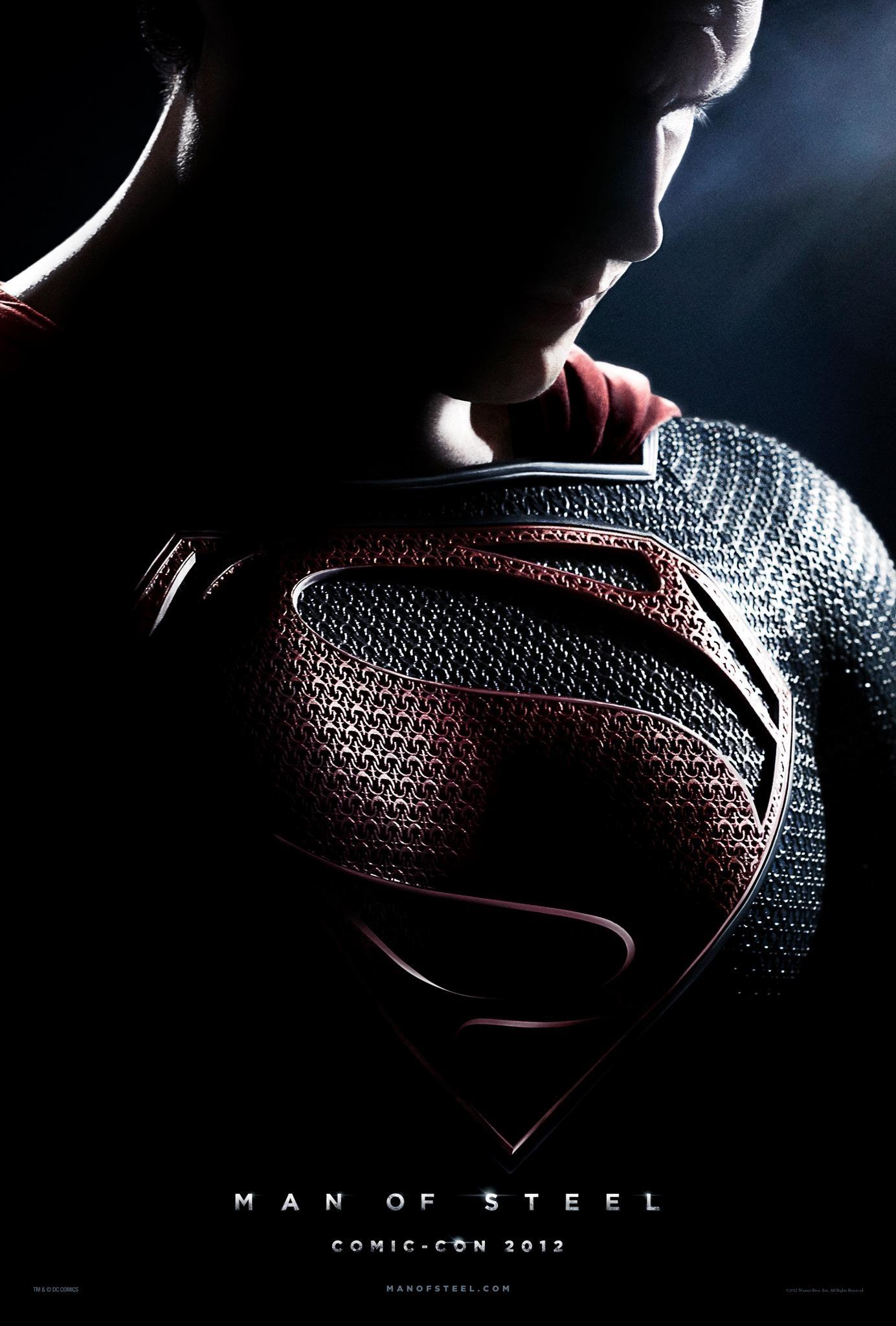 "FILM >> ""El Hombre de Acero (Man of Steel)"" (Superman, 2013) 120714-MOSposter"