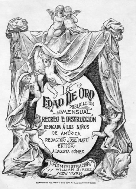 MARTÍ Y LOS NIÑOS, 28 DE ENERO, 157° ANIVERSARIO DEL NACIMIENTO DE JOSÉ MARTÍ Oro