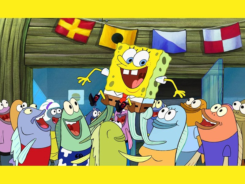 تحبون سبونج بوب اذا تحبونه شوفو الصور SpongeBobSquarepantsWallpaper2800