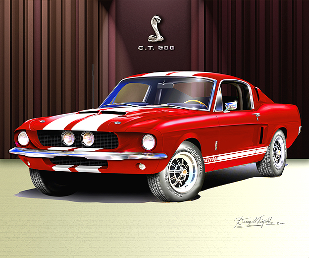 Mustang or Camaro? ITEM_6-B-4_1967_MUSTANG_SHELBY_GT-500_Candy_apple_red_