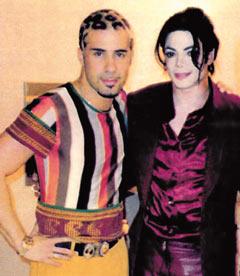Luca Tommassini omaggerà Michael Jackson ai Wind Music Awards Tommassini_michael1