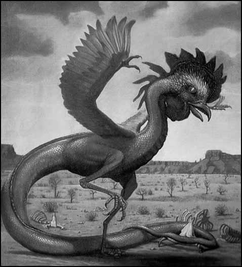 Monstres mythiques et créatures légendaires Basilic