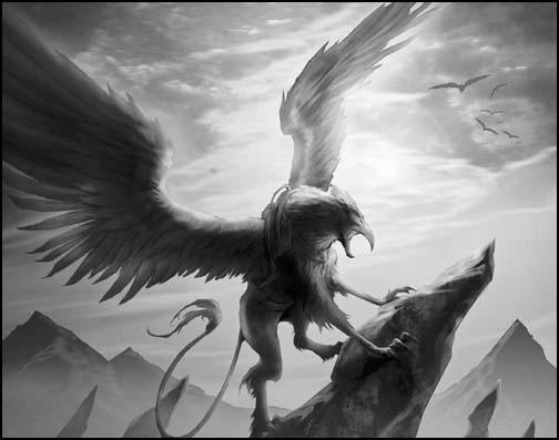 Monstres mythiques et créatures légendaires Griffon