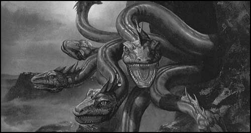 Monstres mythiques et créatures légendaires Hydre