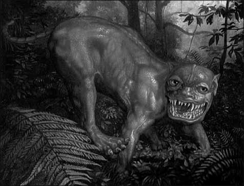 Monstres mythiques et créatures légendaires Manticore