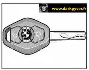 [BMW 318 i E46] Réinitialiser la clé avec autre clé Cle-radio-apres-99-2