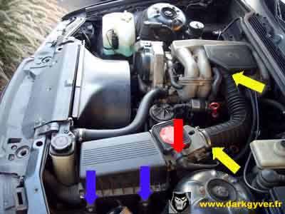 [ BMW E36 316i M43 an 1996 ] Remplacement du joint de culasse Pipe-admission-M40-07
