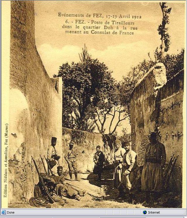 Les Goumiers Marocains (de 1908 à 1956 ) - Page 2 Fes1912d