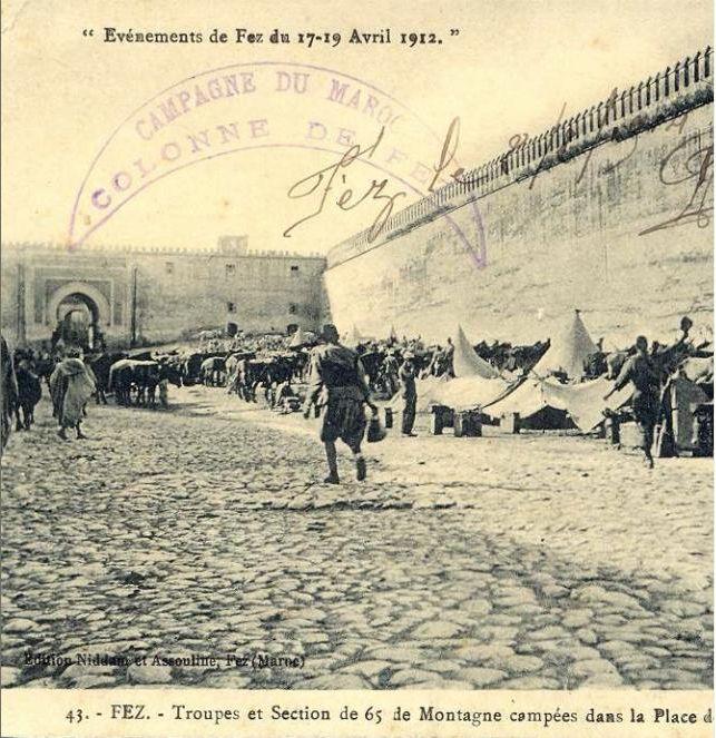 Les Goumiers Marocains (de 1908 à 1956 ) - Page 2 Fes1912e