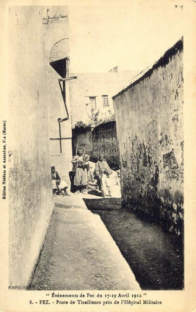 Les Goumiers Marocains (de 1908 à 1956 ) - Page 2 Fes1912f