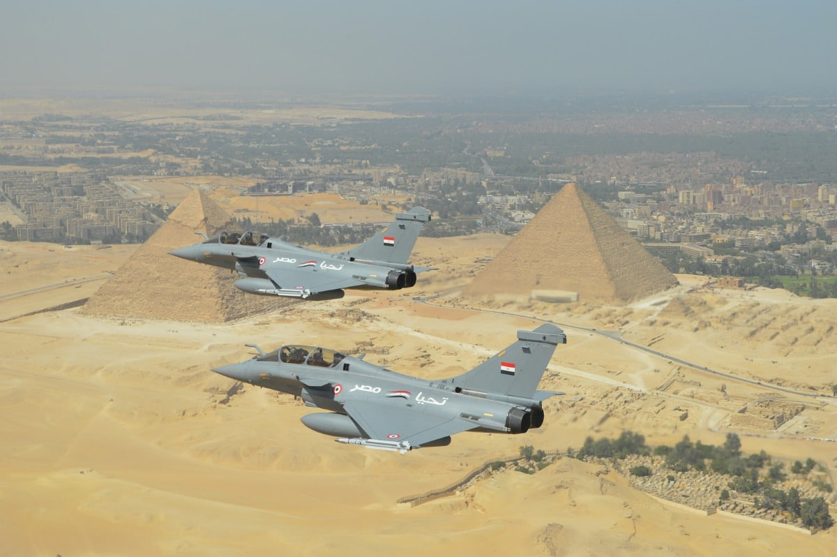 Egyptian Air Force (EAF) - Page 5 Rafales-egypte