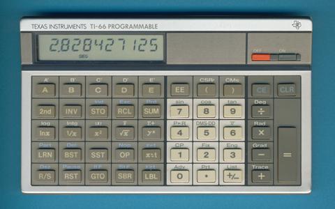 Les premières TI programmables 2/2 TI-66