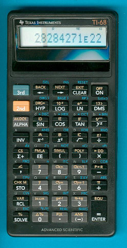 Les premières TI programmables 2/2 TI-68_2