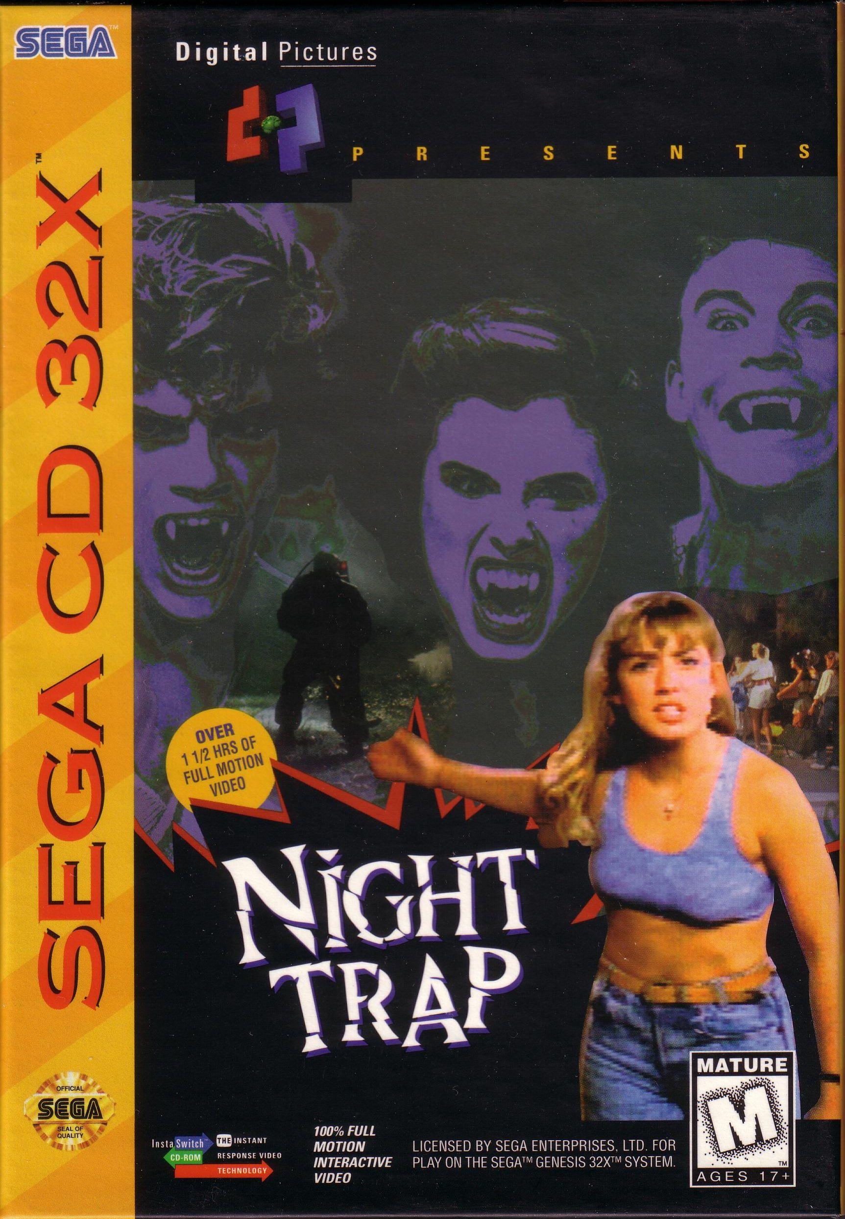 Quel est selon vous le meilleur jeu de Vampires ? 16bits - Page 2 Night-Trap-32x-Coverart