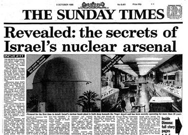 البرنامج النووى الاسرائيلى  SundayTimes-IsraeliNuclearWeapons