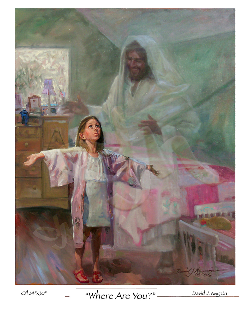 Quips, Quotes & Fun Stuff Religious-art-children-jesus-where-are-you