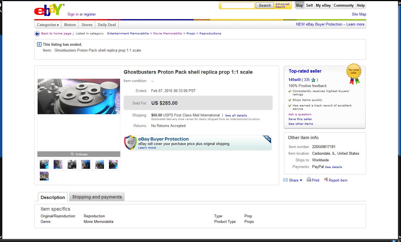 Achat d'une shell sur Ebay - Récit d'une erreur de débutant Ebaypage1