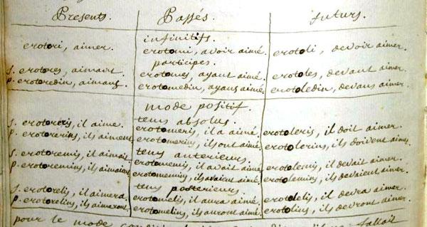 Projet d'André-Marie Ampère (1799) Table_ampere_p14